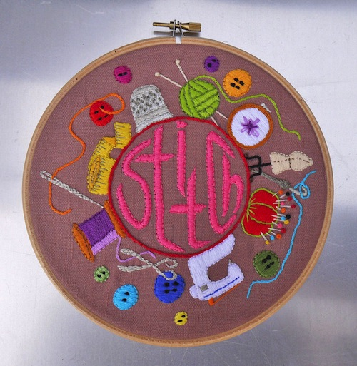 Stitch by The Grumpy Crafter (Hand Embroidery)