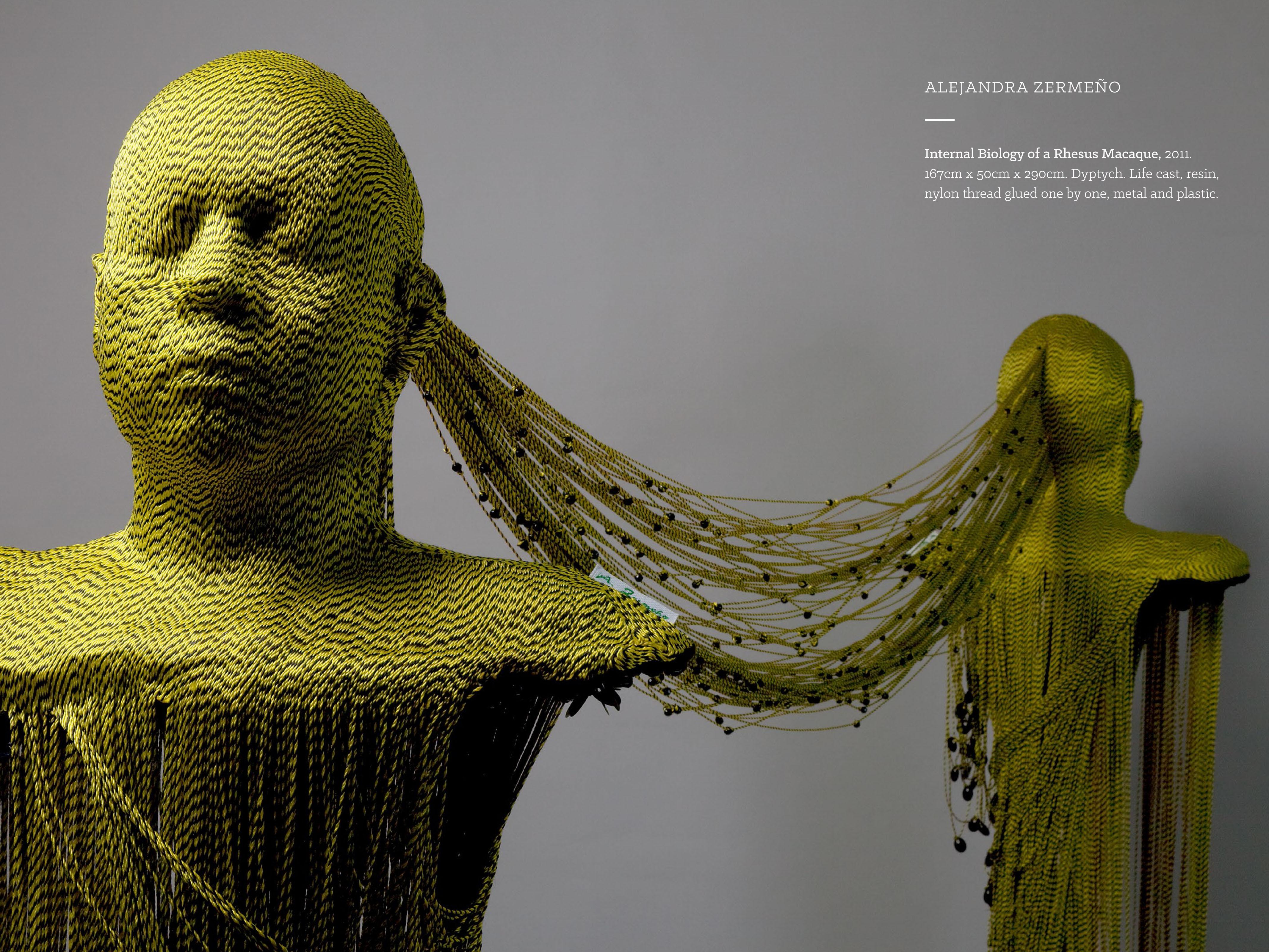 3D mixed media textile art - Alejandra Bermeno