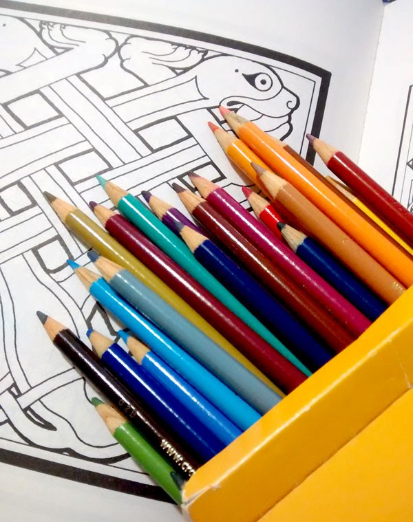 Colored Pencils and Design