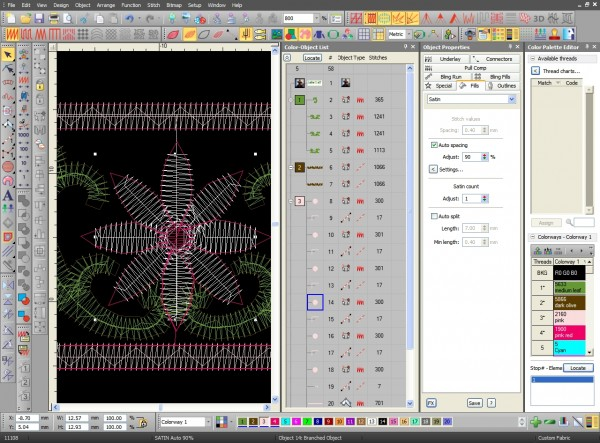 Digitizing Software Window Cluttered with Tools