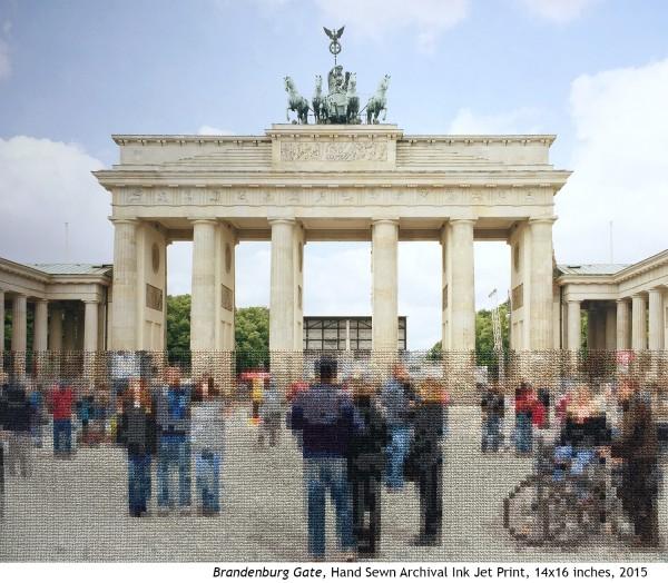 Diane Meyer - Brandenburg Gate - Cross Stitch