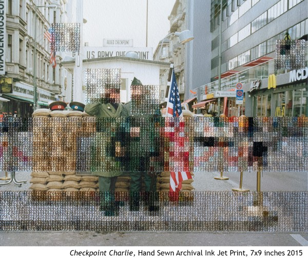 Diane Meyer - Checkpoint Charlie - Cross Stitch