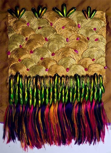 Golden Exotics Project: Gemma Lucas Embroidery