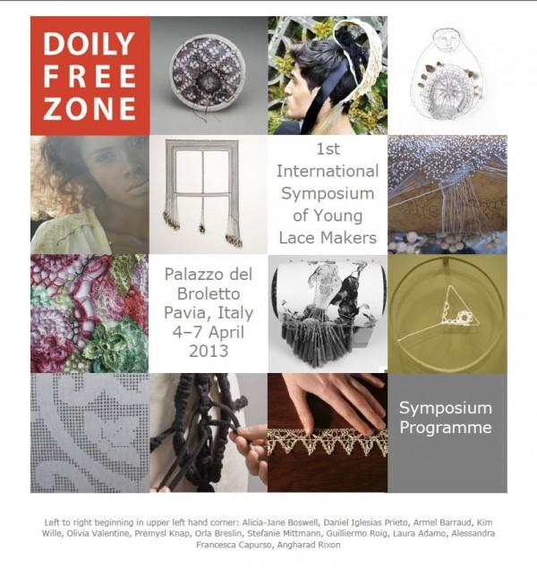 Doily Free Zone Symposium 2013
