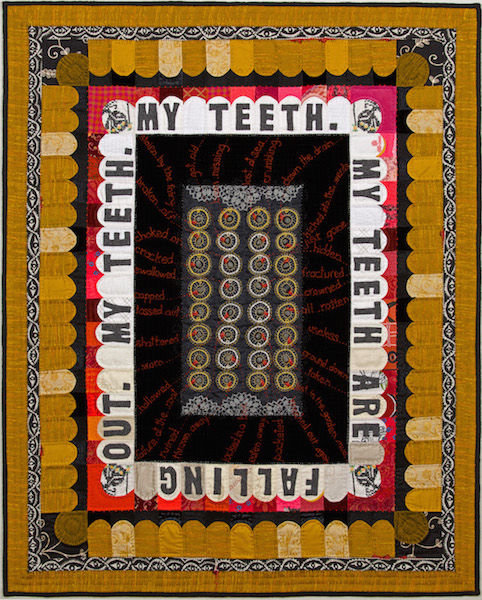 Reliquary #1, Amy Meissner, Textile Artist