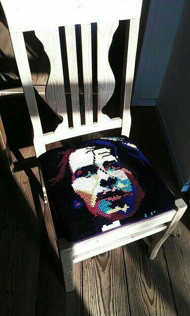 Eddie Vedder embroidery by Muzikengel
