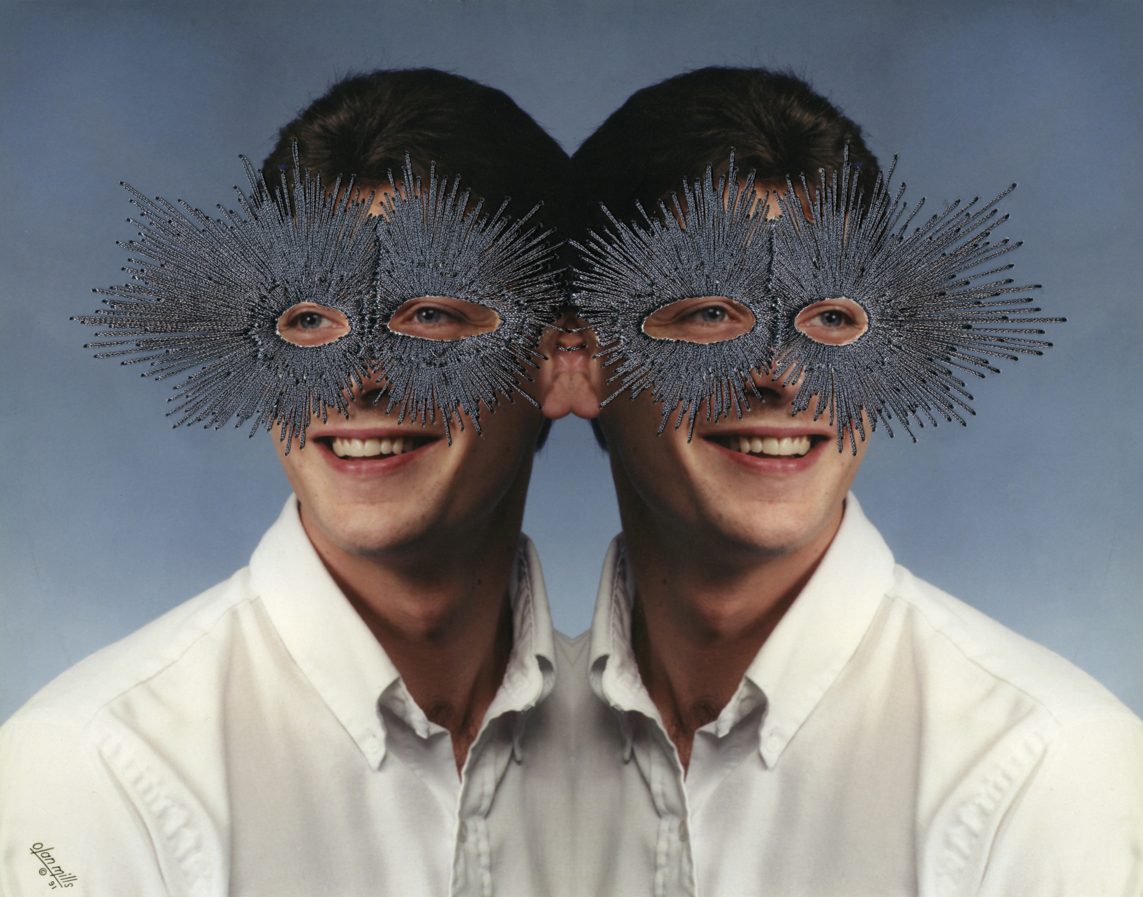 Jessica Wohl - Double Vision - Hand Embroidery