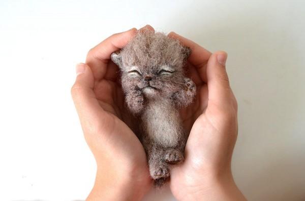 needle felted cuties