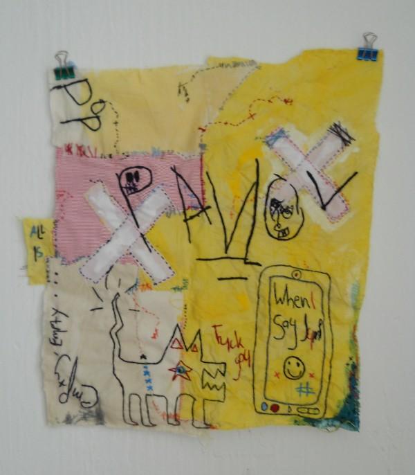 Anthony Stevens - Pavlov - Hand Embroidery