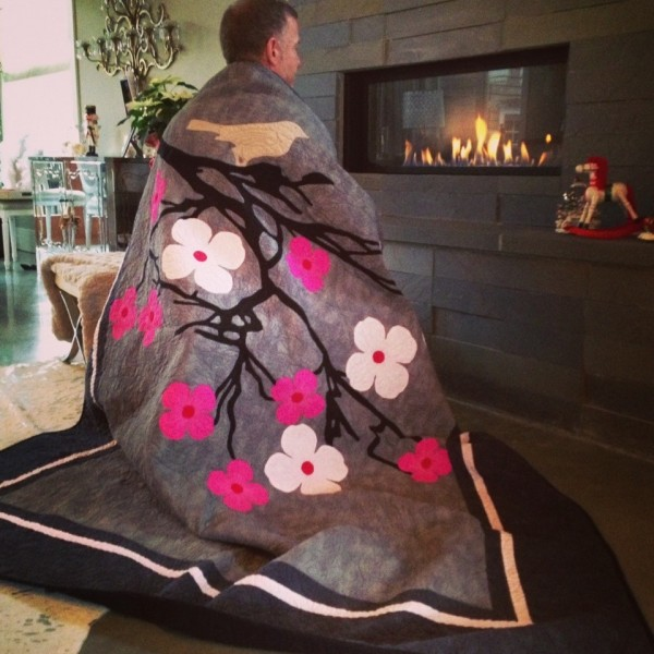 Dale Rowse - Cherry Blossom Quilt