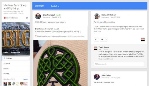Machine Embroidery and Digitizing Forum