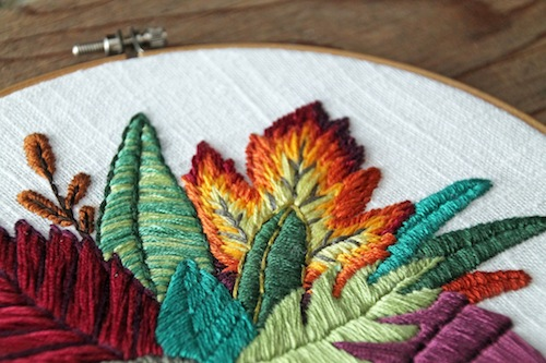 IttyBittyBunnies - Leaf Bouquet Embroidery