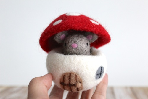 Wild Whimsy Woolies - Mouse House