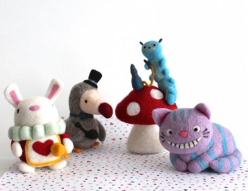 Wild Whimsy Woolies - Alice in Wonderland