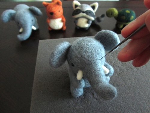 Wild Whimsy Woolies - Work in Progress