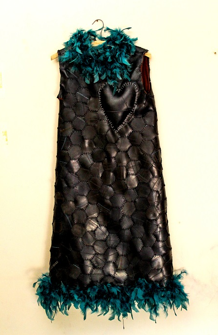 Rubber Dress, 2014.