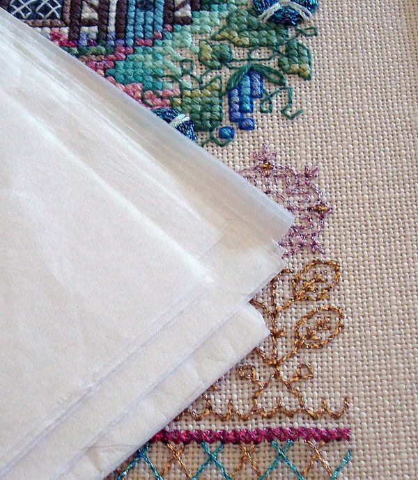 Preserve jewelry, photos, textiles, plus finished and unfinished needlework projects with Acid-Free Tissue Paper.