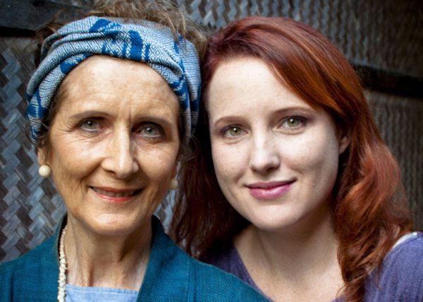 Patricia Cheeseman, founder of Studio Naenna and her daughter Lamorna. Photo by Marisa Marchitelli