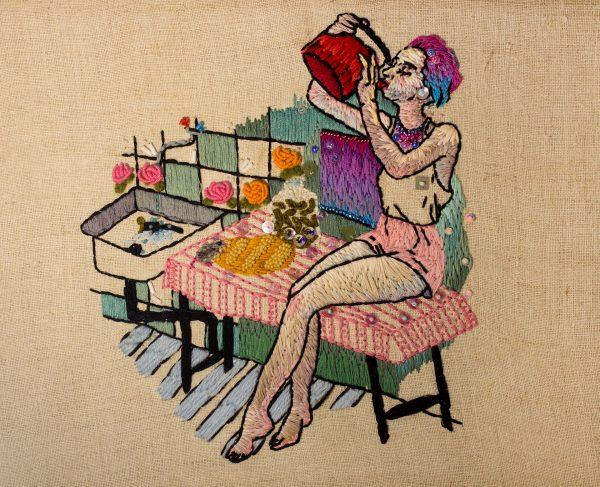 Olga Lisowska - Good Morning After - Hand Embroidery & Beadwork