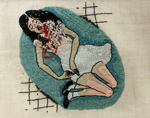 Olga Lisowska - Nosebleed Bath - Hand Embroidery & Beadwork
