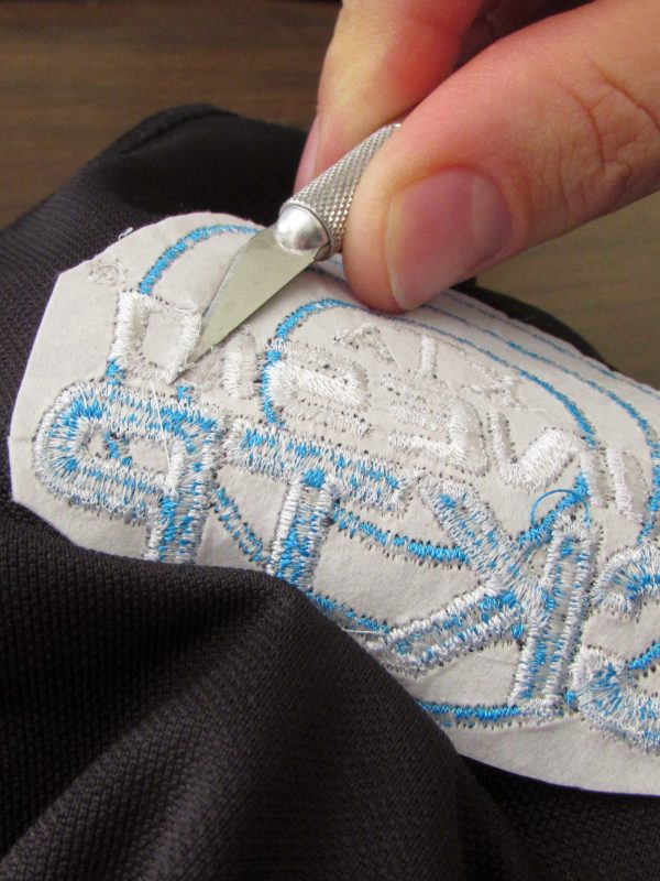 removing stitches embroidery