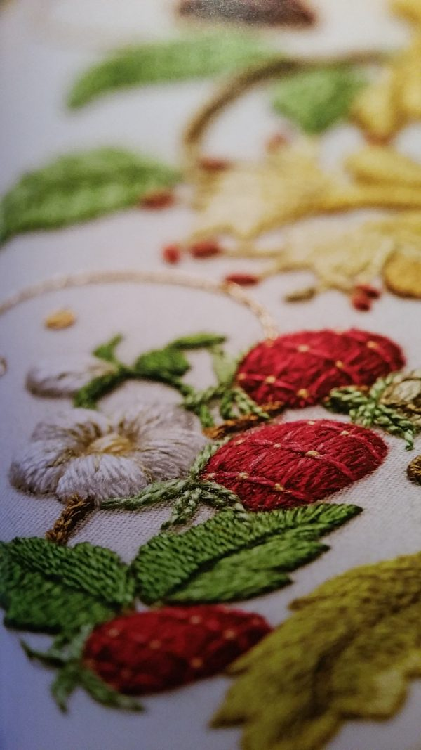 Inspirations: A Passion for Needlework - Strawberries