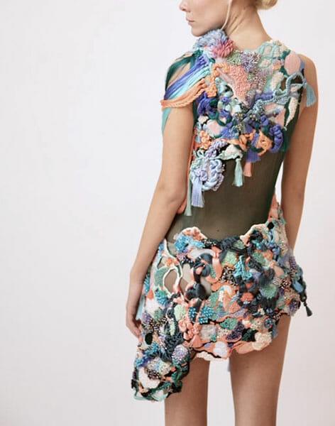 First prize, fashion student category - Dress by Jim Kim