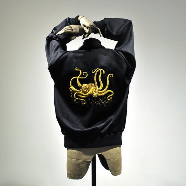 Octopus jacket, by Annalisa Middleton