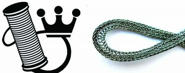 Forty + years ago, the Kreinik family put a crown in their logo. Today, one of their fibers is used in a queen's gown.