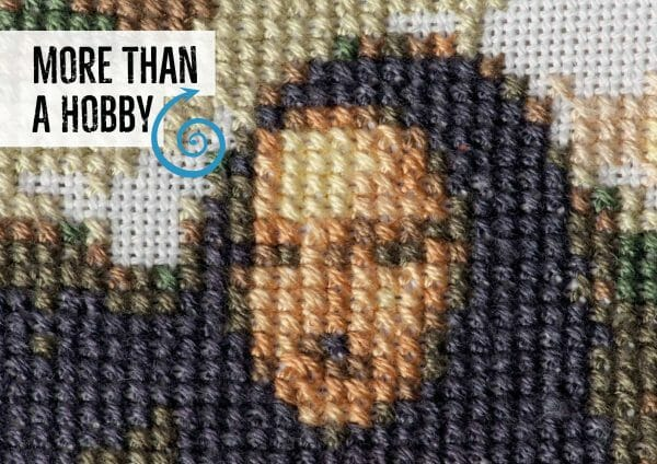 More Than A Hobby section from the Mr X Stitch Guide to Cross Stitch