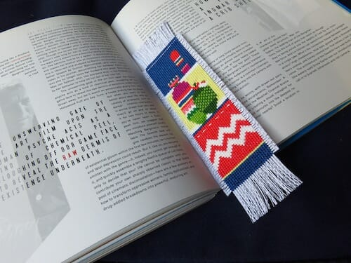 Lucky Star Stitches - Cactus Bookmark