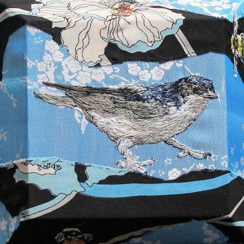 Emily Tull - Housemartin - Hand Embroidery