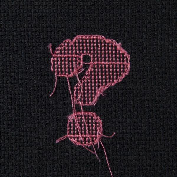 Back In Black - pink on black version