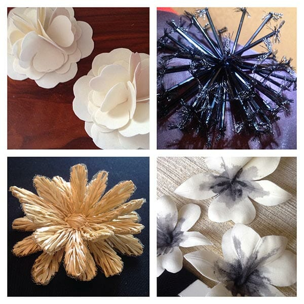 Elena's hand crafted flowers