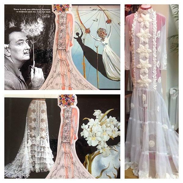 Hand & Lock design and dress, Elena Savelyeva