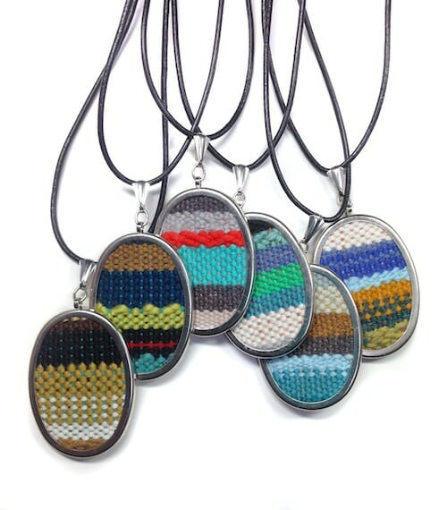 pidge pidge - Handwoven Necklace
