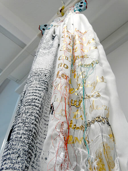 Christening gown detail, Sarah Jane Tickner