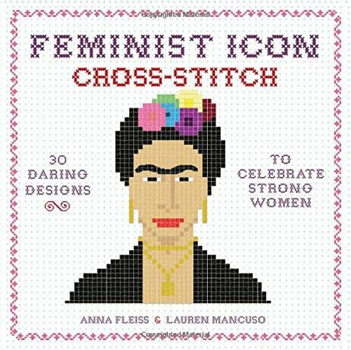 Feminist Icon Cross Stitch Cover