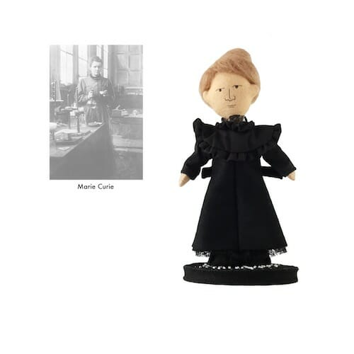 Plush Art Lab - Marie Curie Doll