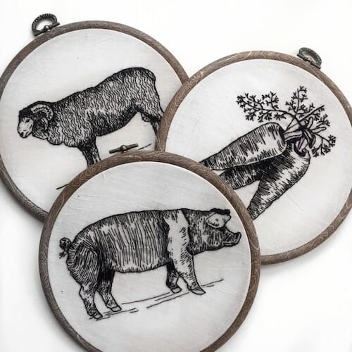 Tiny Hand Embroidery - Embroidery Hoops