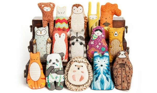 Michelle Galletta's Plush Animal Collection