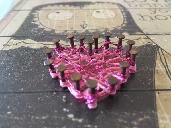 Creative chaos made from thread