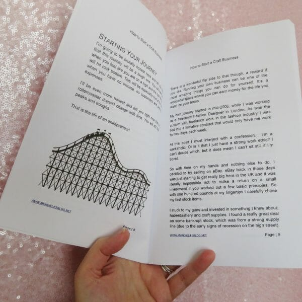 "Sara Millis has created a book with a limited number of images, it is the text which holds key.  To the ""picture happy"" casual observer, this may seem like a down point; however for those who really want to create a successful craft, it is the text which will seem like gold dust."