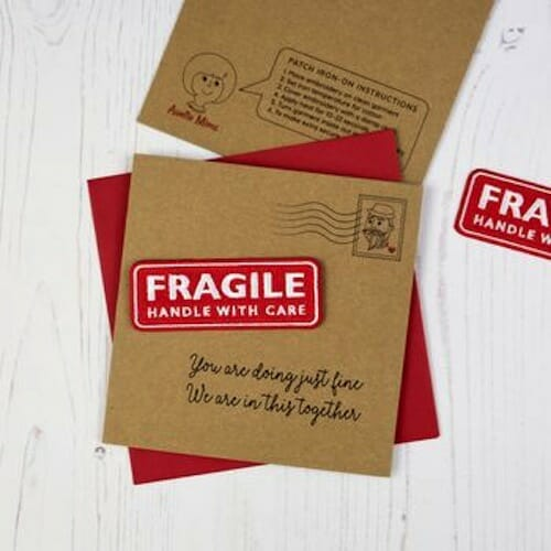 Auntie Mims - Fragile Patch with Card