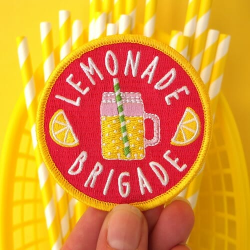 Hey Hey Ginger-Lemonade Brigade Patch