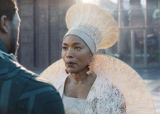 Queen Ramonda from the Black Panther movie