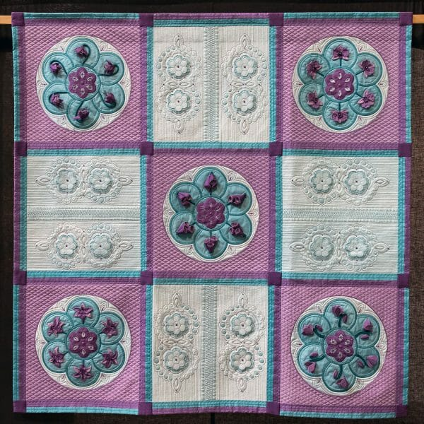 Katie George/Sew with Pauline - Circle of Life - Quilt
