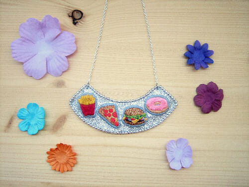 Barney Laflaque - Junk Food Necklace