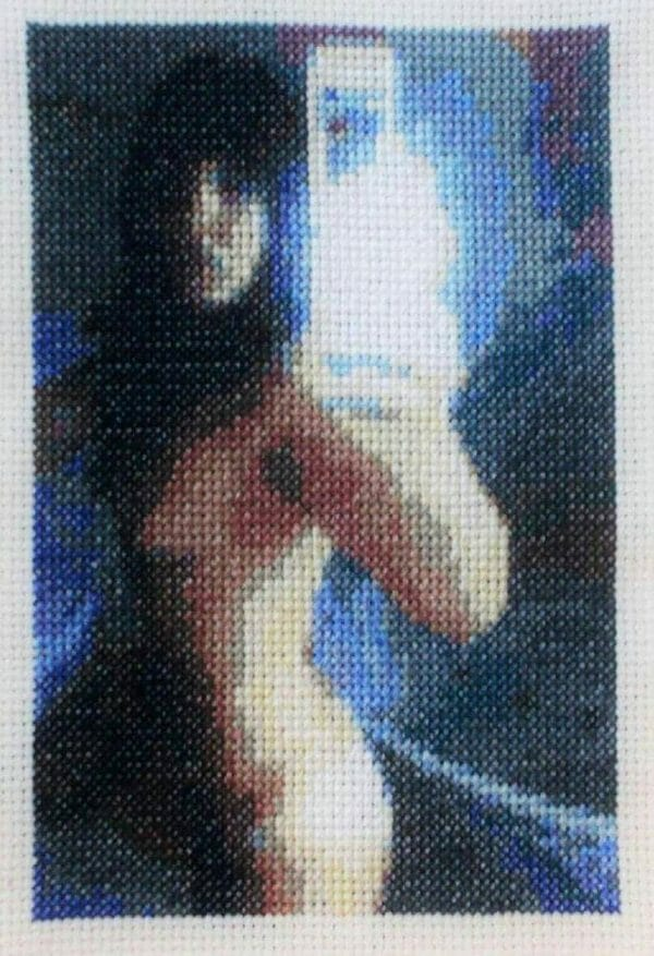 Heather Rios - Untitled - cross stitch