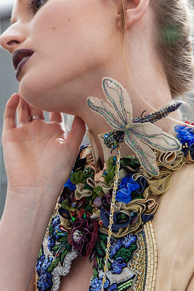 1st Prize Couture Garment - International Hand & Lock 2017 Embroidery Prize-6, by Ami Waring